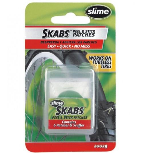 Parches antipinchazos Slime Skabs rápidos (6 unid)