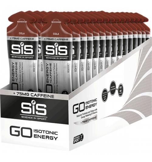 Caja Geles SIS Go + Cafeina 75mg (30 unidades)