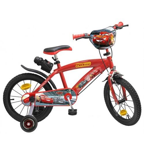 "Bicicleta Toimsa Cars 3 16"""