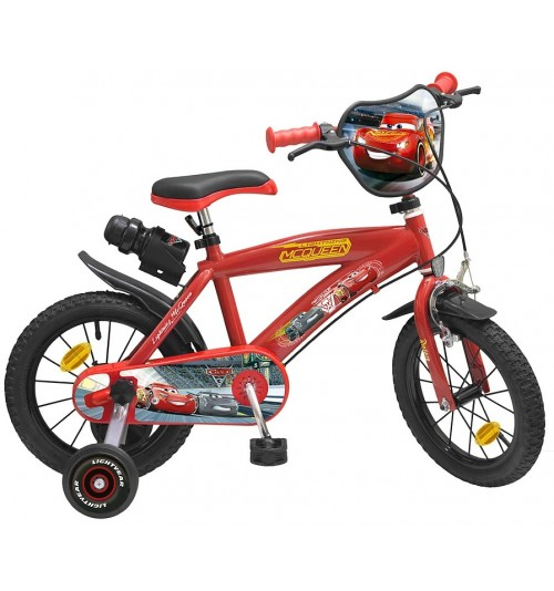 "Bicicleta Toimsa Cars 3 14"""