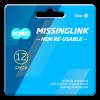 Eslabón de cadena KMC 12 velocidades (2 unidades)