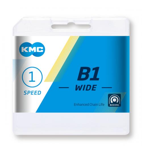 Cadena KMC B1 112 eslabones Single speed
