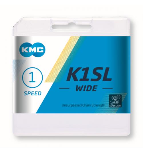 Cadena KMC K1SL Wide 100 eslabones