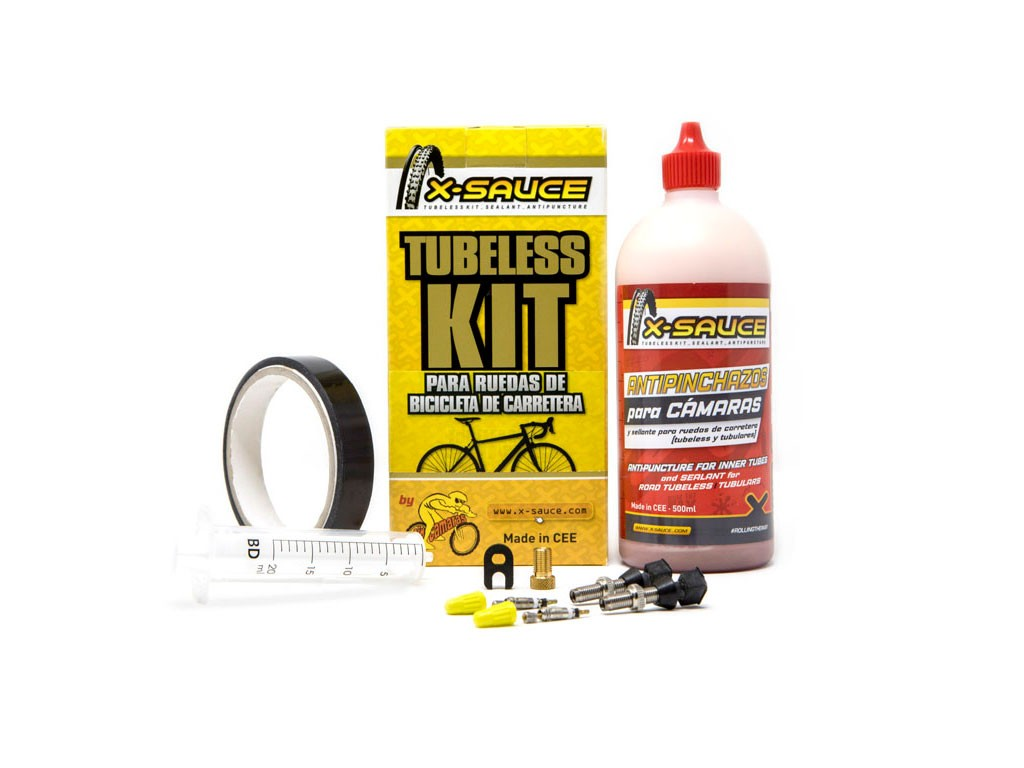 Kit Tubeless X-Sauce carretera