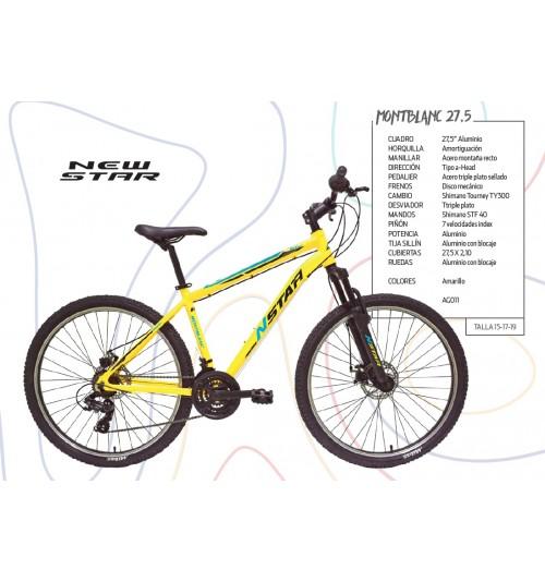Bicicleta NEW STAR MONT BLANC 27,5
