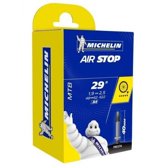 Cámara Michelin A4 Airstop 29 (Válvula Fina 40mm)