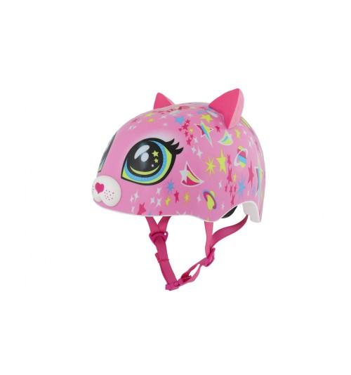 Casco C-Preme Toddler Gato Rosa