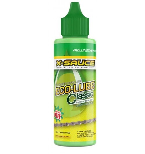 Lubricante Cera X-Sauce Ecolube para cadena