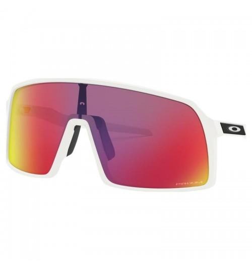 Gafas Oakley Sutro Matte White con lentes Prizm Road