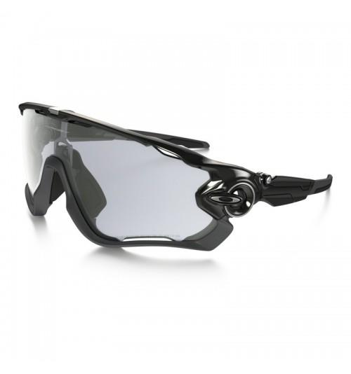 Gafas Oakley Jawbreaker Black con lentes Clear to Black fotocromáticas