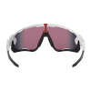Gafas Oakley Jawbreaker Polished White con lentes Prizm Road
