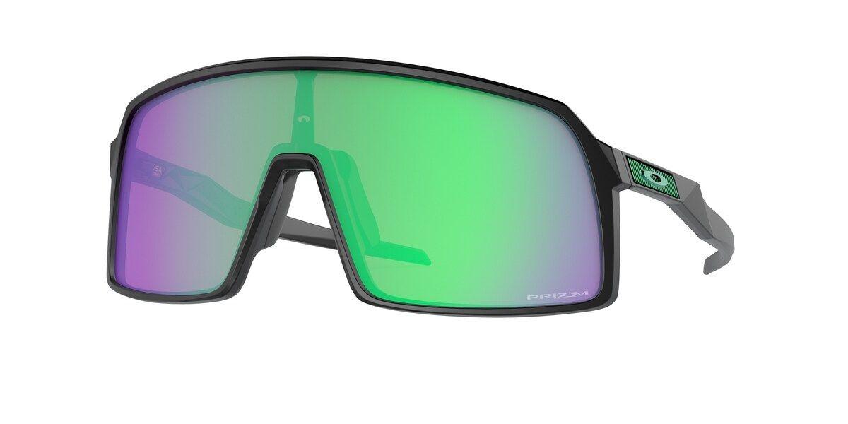 Gafas Oakley Sutro TLD Matte Black con lentes Prizm Road Jade