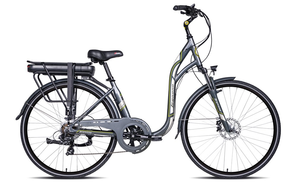 Bicicleta Legnano E-Bike Ginseng Monotube 28