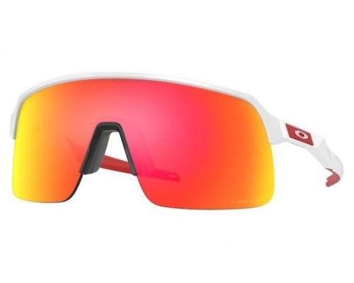 Gafas Oakley Sutro Lite Matte White con lentes Prizm Ruby