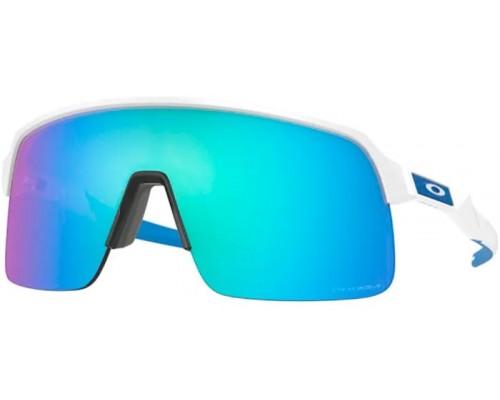 Gafas Oakley Sutro Lite Matte White con lentes Prizm Sapphire