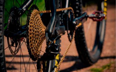 Transmisión bicicleta
